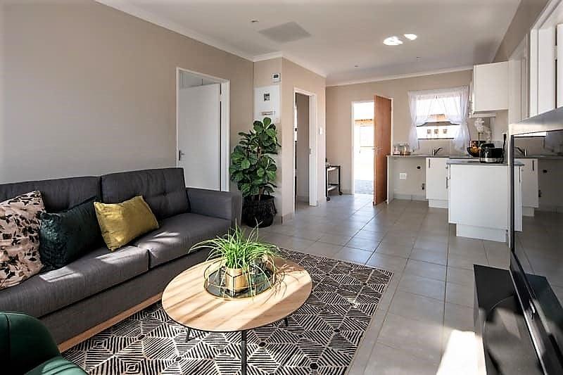 Modern open plan homes