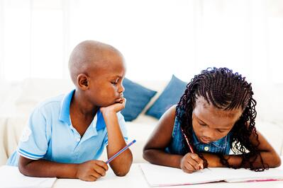 Photo of kids learning - iStock-496446887